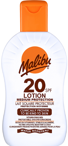 SPF20 Lotion Protection